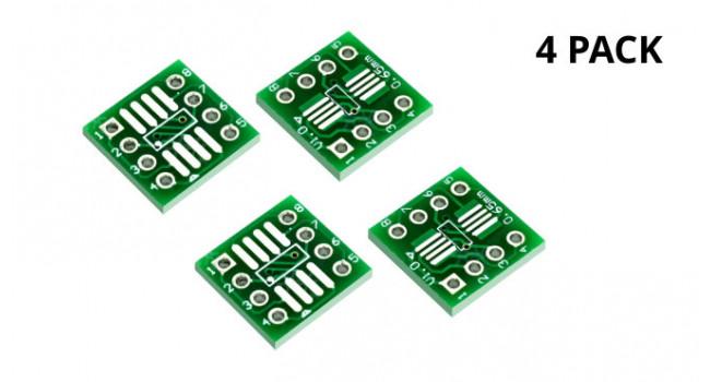 SOP-8 to DIP Converter (4 Pack)