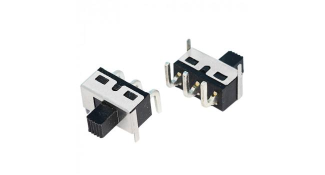 Slide Switch 12V 10A - 90 Deg (2 Pack)
