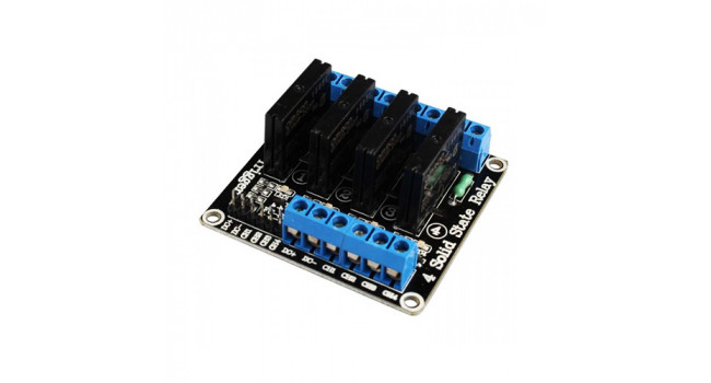 Solid State Relay - 4 Channel