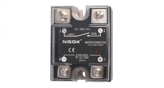 NKDH12048ZD3 Solid State Relay 480V 120A DC-AC