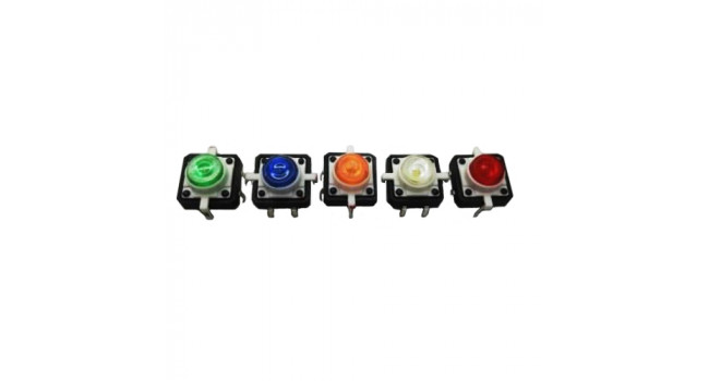 Switch with LED Indicator (5 Pack)