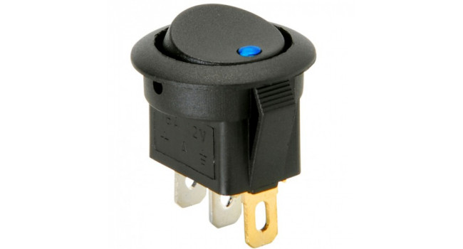 Panel Mount 12V Switch (4 Pack)