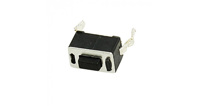 Tactile Switch 2 Pin H=4.5mm TH (10 pack)