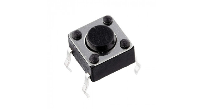 Tactile Switch 4 Pin H=5mm TH (10 pack)
