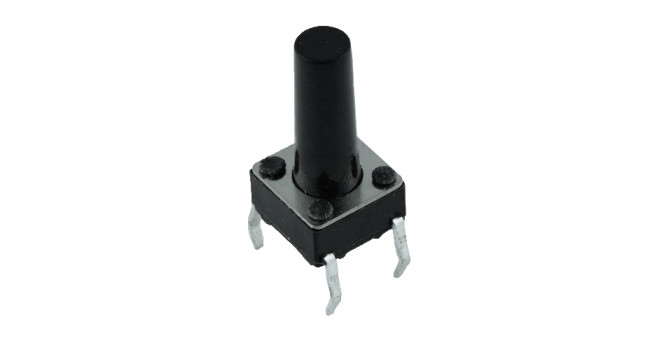 Tactile Switch 4 Pin H=20mm TH (10 pack)