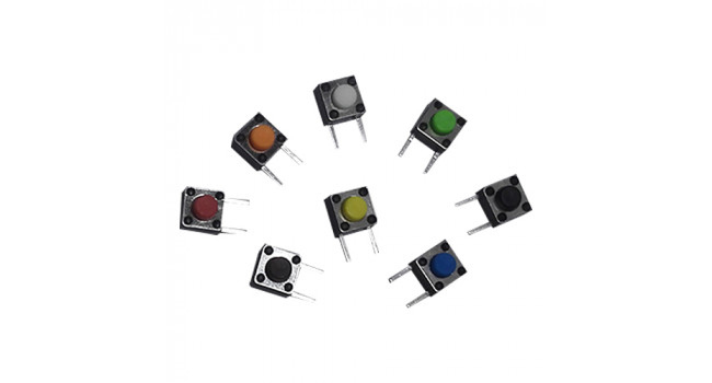 Momentary Tactile Switch (8 Pack)