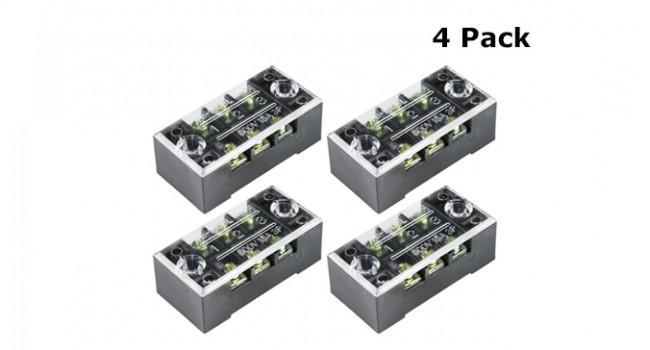 Terminal Block - 3 Way (4 Pack)
