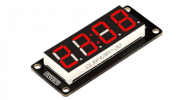 TM1637 4 Digit 0.56 inch Display - Red