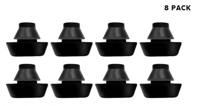 Rubber Feet Push-in (8 Pack)