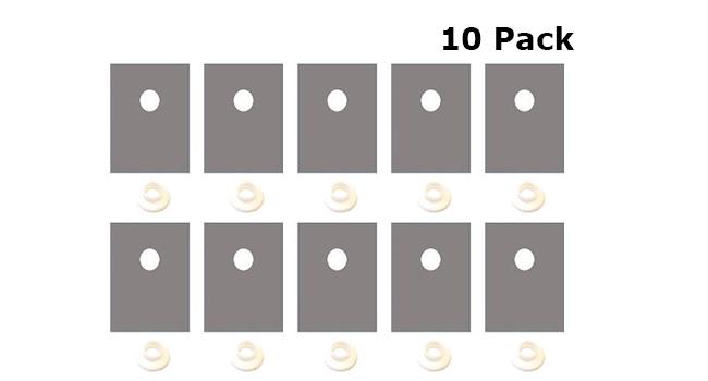 TO220 Insulator Kit (10 Pack)