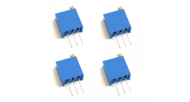 Multiturn Trimpot Resistor 100K Vertical (4 Pack)