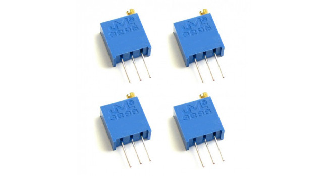 Multiturn Trimpot Resistor 10K Vertical (4 Pack)