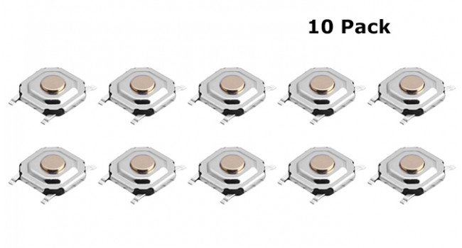 Mini SMD Momentary Switch (10 Pack)