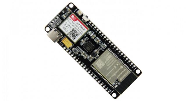 TTGO ESP32 + GSM 800l