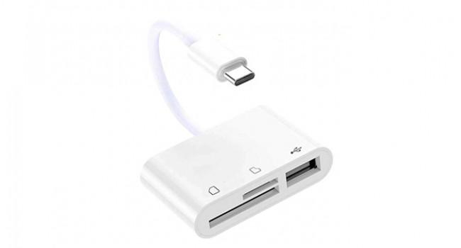 USB C Card Reader