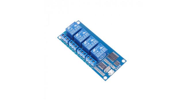 USB Relay Board - 4 Way