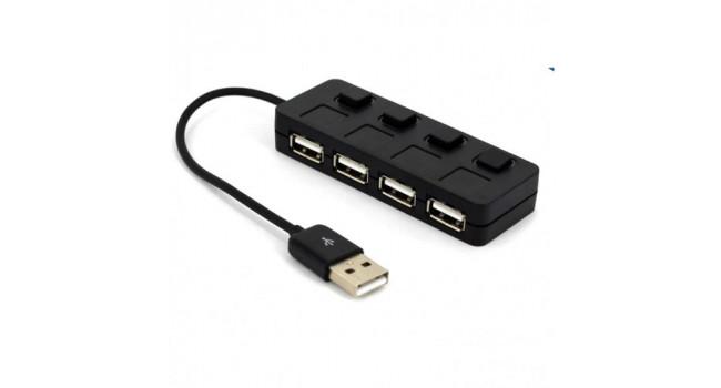 USB Hub 4 Port + Switch