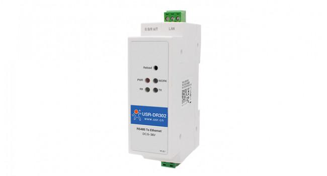 USR Industrial Serial to Ethernet - Din Rail