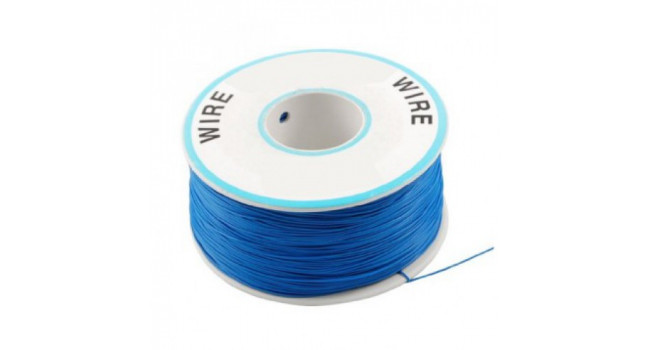 Wire 30AWG PVC - Blue 305M