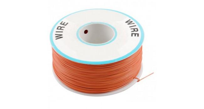 Wire 30AWG PVC - Orange 305M