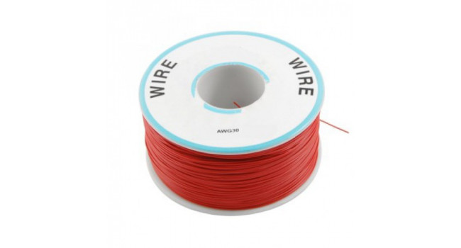 Wire 30AWG PVC - Red 305M