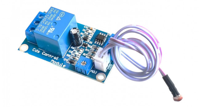Light Controlled Relay 12V Module