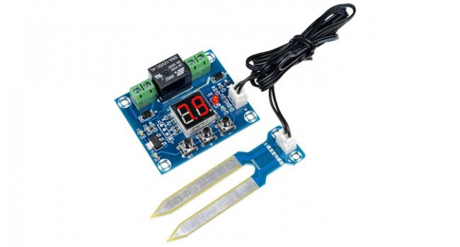 Soil Sensor Board with Display & Probe