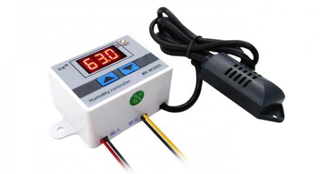 Humidity Controller + Disp - 12V