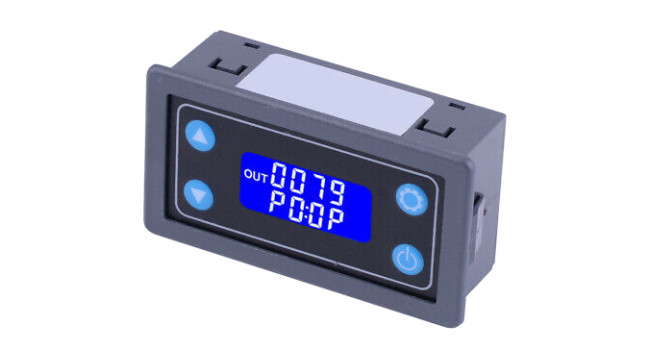 Time Relay Module with Display