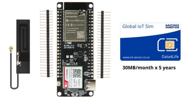 TTGO ESP32 800L GSM Modem Bundle