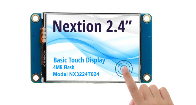 Nextion 2.4 inch Basic Touch Display - NX2432T024