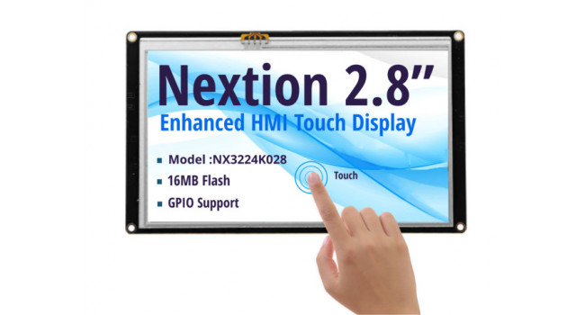 Nextion 2.8 inch Enhanced Touch Display - NX3224K028