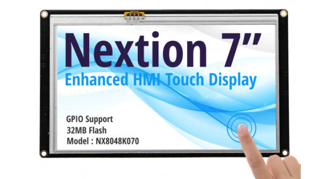 Nextion 7 inch Enhanced Touch Display - NX8048K070
