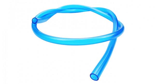 """PVC Tube 1/8"""" - Blue"""