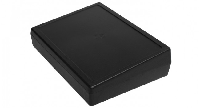 Desktop Enclosure 139 x 190 x 49mm - Black