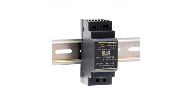 Mean Well 5V 3A 15W Din Rail