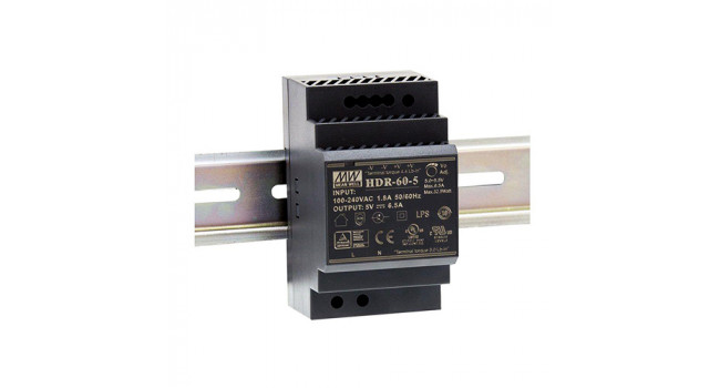 Mean Well 24V 2.5A 60W Din Rail