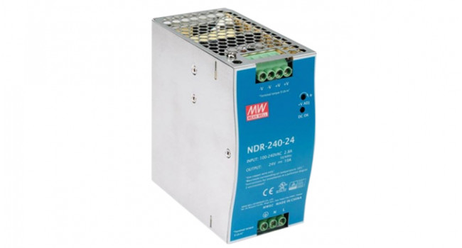 Mean Well Din Rail 24V 10A
