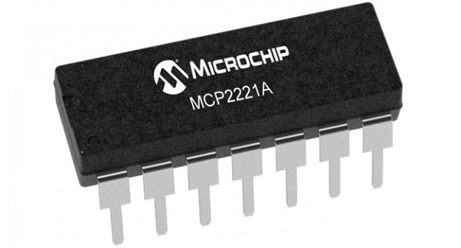 Microchip USB to UART/I2C - DIP