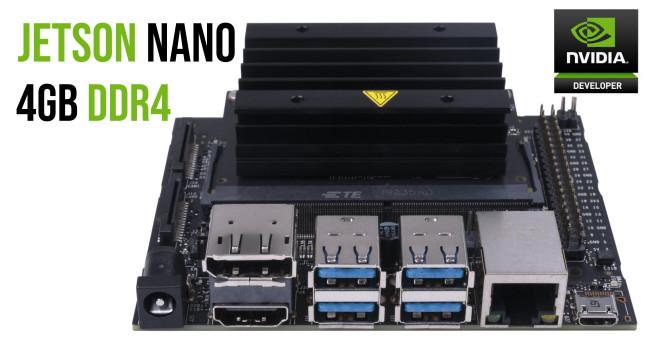 NVIDIA Jetson Nano 4GB DDR4 Development Kit (New rev B01)