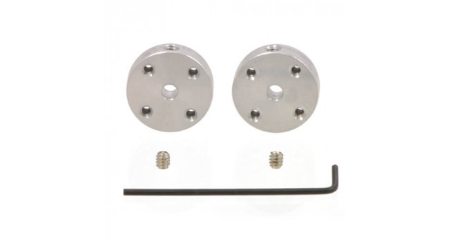 Mounting hub 3mm (Pair)