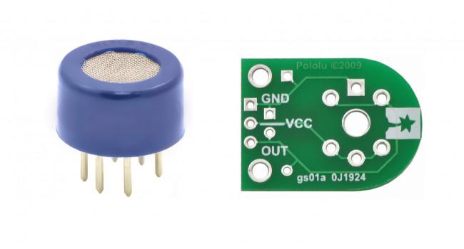 Alcohol Gas Sensor (MQ-3) + Carrier Board
