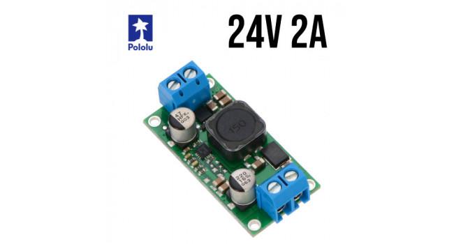 Pololu Boost Regulator, Vin 2.9-32V, Vout 24V 2A