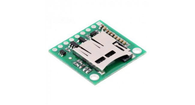 Micro SD breakout with 3.3V Regulator & Level Shifters