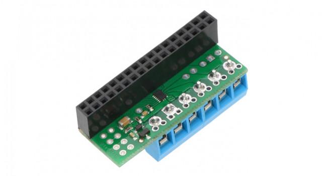 Dual Motor Driver for Raspberry Pi 2/3