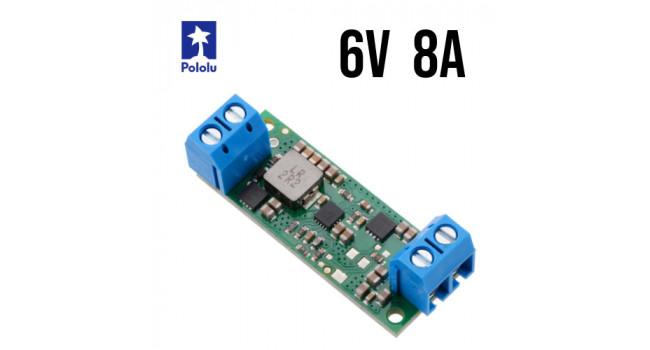 Pololu Boost Regulator, Vin 2.9-6V, Vout 6V 8A