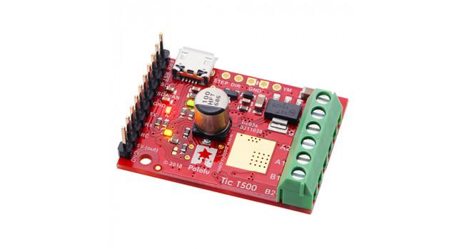 T500 Stepper Driver 2.54A, USB, RC & I2C