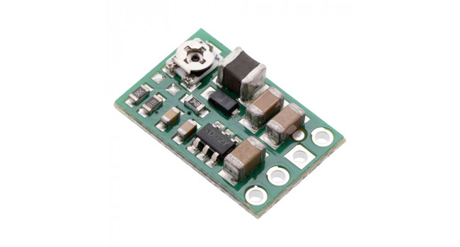 Adjustable Voltage Regulator VIN 4-50V OUT 2.7-7.5V 0.6A