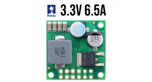 Pololu Boost Regulator, Vin 4.5-50V, Vout  3.3V 6.5A