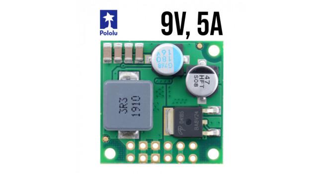 Pololu Buck Regulator, Vin 9.9-50V, Vout 9V 5A